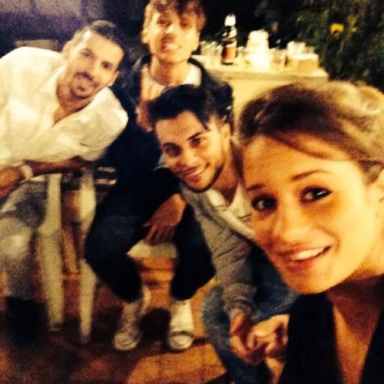 Sara Vitacolonna, Serpente Aurelio, Danny Boodman Novecento e Mounir Ouamna.